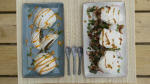Bapao, Bao buns, homemade, chicken