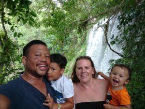 Met mijn gezin op vakantie in Cuba en Jamaica.