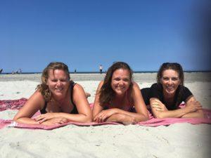 Met mijn zussen op Ameland